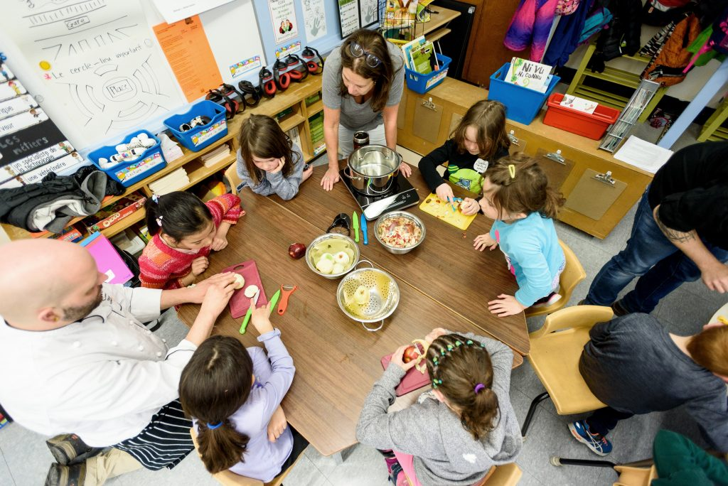 Cultivating Cooks School Food Literacy Initiative